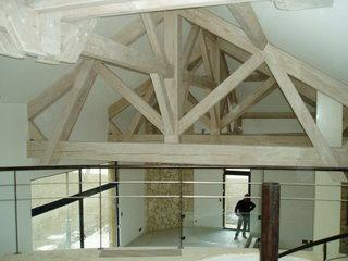 Brisse artisan charpentier marmande for Charpente metallique maison individuelle